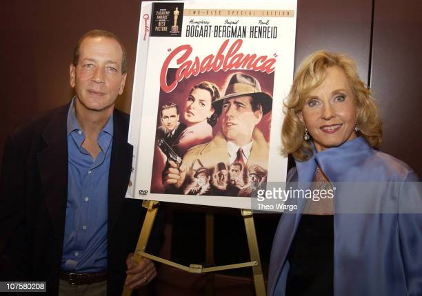 Stephen Bogart and Pia Lindstrom
