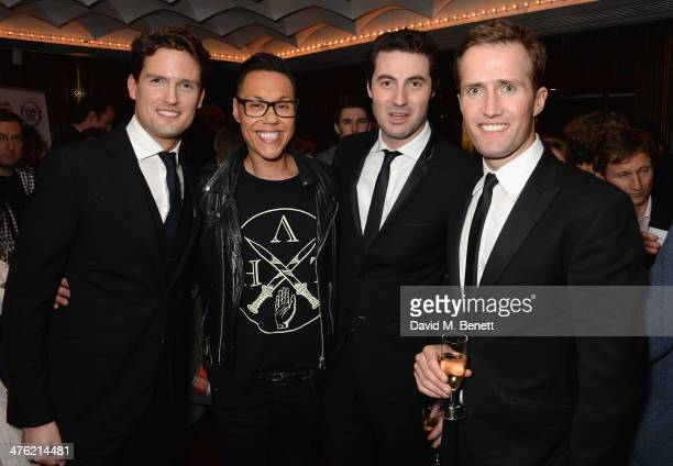 Stephen Bowman Gok Wan Ollie Baines and Humphrey Berney attend at the 'You'll Never Walk Alone' Gala Concert in aid of the Phillippines Typhoon...