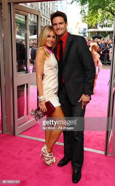 Stephen Bowman of Blake and Hofit Golan arriving for the UK Premiere of Killers at the Odeon West End Leicester Square London