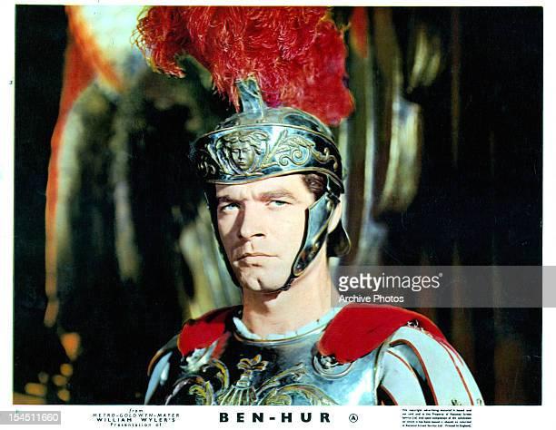 Stephen Boyd in a scene from the film 'BenHur' 1959