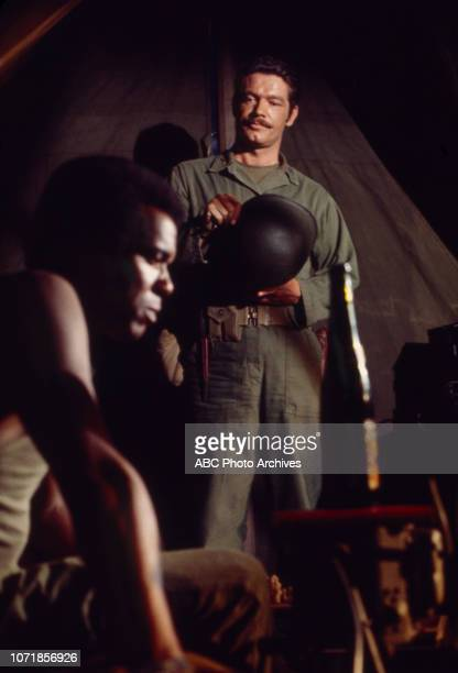 Stephen Boyd Robert Hooks appearing on the Walt Disney Television via Getty Images tv movie 'Carter's Army' January 27 1970