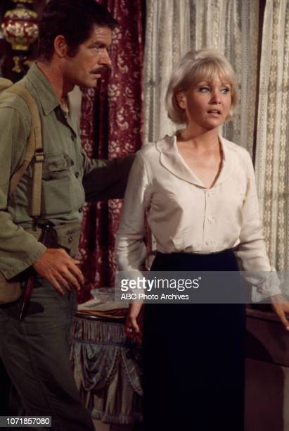 Stephen Boyd Susan Oliver appearing on the Walt Disney Television via Getty Images tv movie 'Carter's Army' January 27 1970