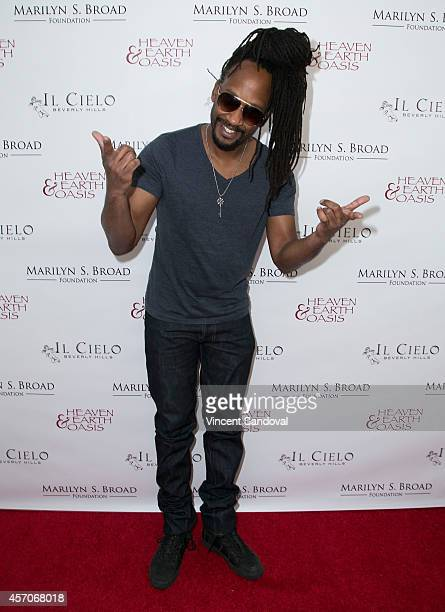 Stephen Bradley attends the Heaven and Earth Oasis Charity fundraiser at Il Cielo on October 11 2014 in Beverly Hills California