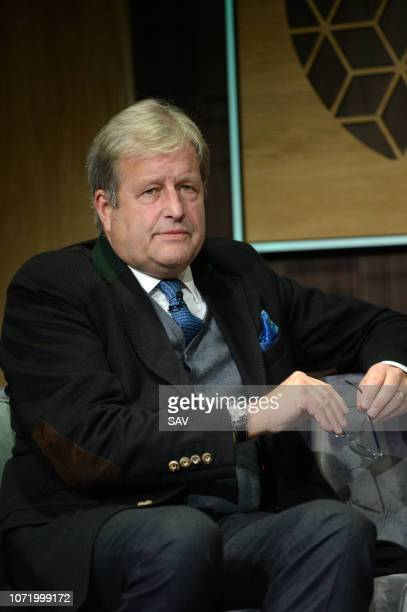 Stephen Brenninkmeijer Chair European Climate Foundation during The Climate Change Conference held at Bloomberg London on December 12 2018 in London...