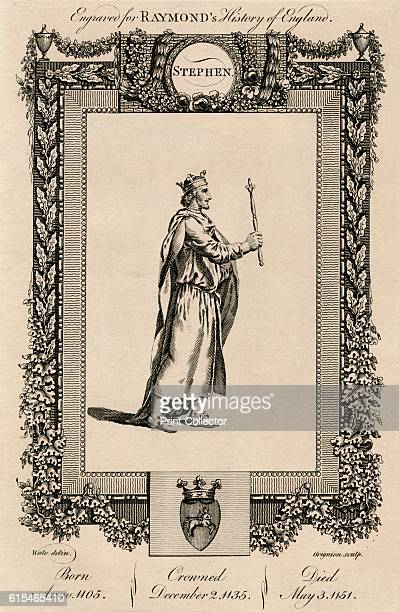 Stephen' c1787 Often referred to as Stephen of Blois he was a grandson of William the Conqueror and King of England from 1135 to his death His reign...
