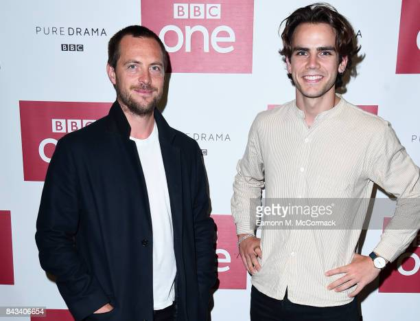 Stephen Campbell Moore and Jeremy Neumark Jones attend the preview of BBC One Drama 'The Last Post' at BFI Southbank on September 6 2017 in London...