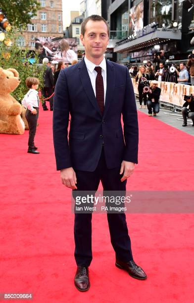 Stephen Campbell Moore attending the world premiere of Goodbye Christopher Robin at the Odeon in Leicester Square London See PA story SHOWBIZ Goodbye...