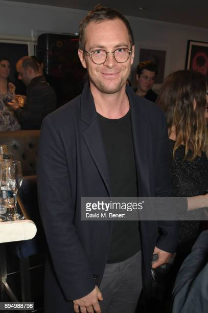 Stephen Campbell Moore attends 'The Grinning Man' press night at Trafalgar Studios on December 18 2017 in London England