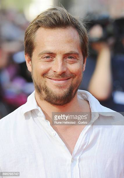 Stephen Campbell Moore attends the premiere of 'Johnny English Reborn' at Empire Leicester Square