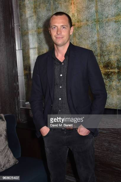 Stephen Campbell Moore attends the press night after party for Nina Raine's 'Consent ' at 100 Wardour St on May 29 2018 in London England