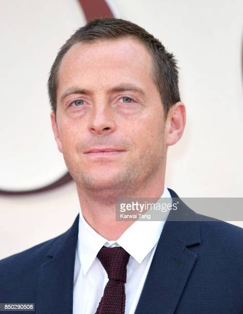 Stephen Campbell Moore attends the World Premiere of 'Goodbye Christopher Robin' at Odeon Leicester Square on September 20 2017 in London England