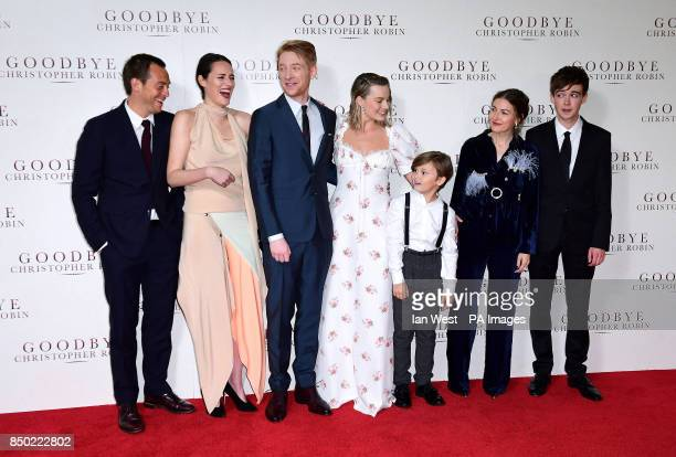 Stephen Campbell Moore Phoebe Waller Bridge Domhnall Gleeson Margot Robbie Will Tilston Kelly MacDonald and Alex Lawther attending the world premiere...