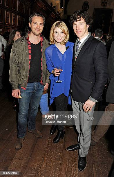 Stephen CampbellMoore Jodie Whittaker and Benedict Cumberbatch attend a party to celebrate Michael Attenborough's 11 years as Artistic Director of...