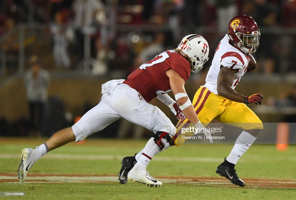 USC v Stanford : News Photo
