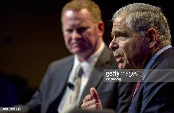 William Deupree president and chief executive officer of Escondido Resources LP speaks during the Hart Energy DUG Eagle Ford Shale conference in San...