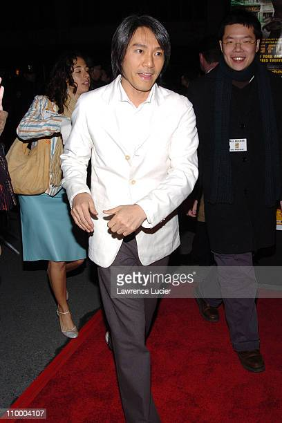 Stephen Chow during New York Premiere of Kung Fu Hustle at Ziegfeld Theater in New York City New York United States