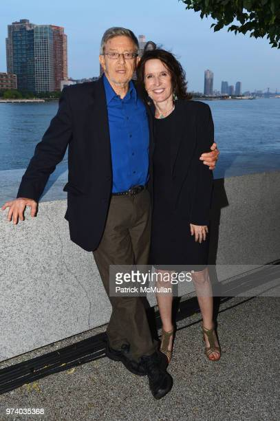 Stephen Cohen and Katrina vanden Heuvel attend the Franklin D Roosevelt Four Freedoms Park's gala honoring Founder Ambassador William J Vanden Heuvel...