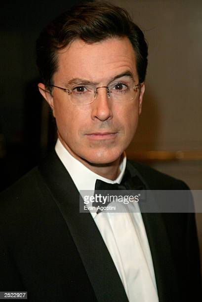 Stephen Colbert at the New York Friars Club Roast of Chevy Chase at the Hilton Hotel in New York City September 28 2002 Photo by Evan Agostini/Getty...