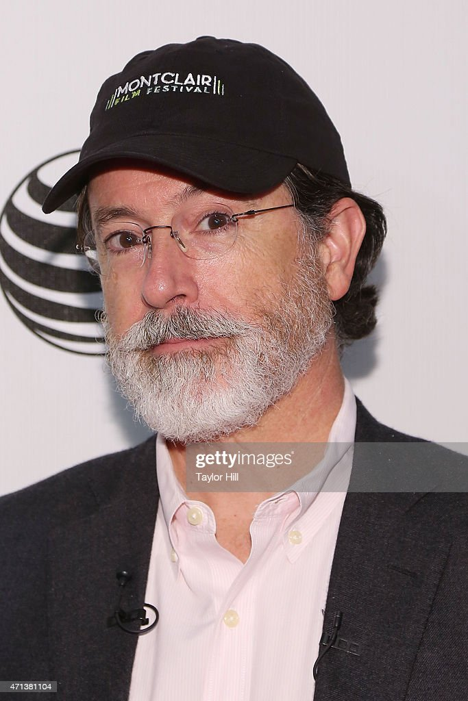 2015 Tribeca Film Festival - Tribeca Talks: Directors Series: George Lucas with Stephen Colbert : News Photo