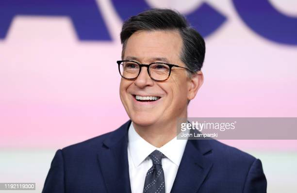 Stephen Colbert attends as ViacomCBS Inc. Rings the opening bell at NASDAQ on December 05, 2019 in New York City.