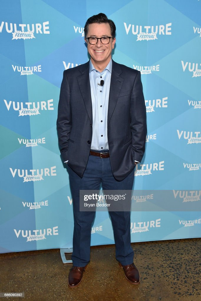 Stephen Colbert attends State Of The Union With Stephen Colbert And Frank Rich during the 2017 Vulture Festival at Milk Studios on May 20, 2017 in New York City.