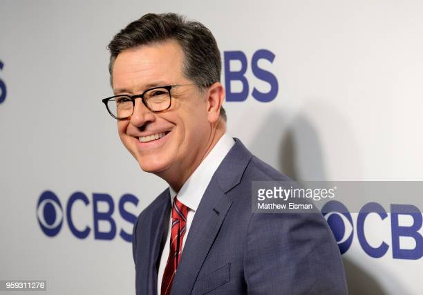 Stephen Colbert attends the 2018 CBS Upfront at The Plaza Hotel on May 16 2018 in New York City