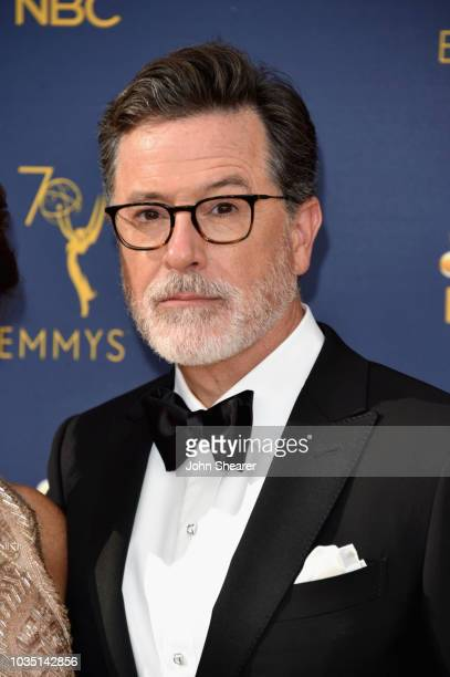 Stephen Colbert attends the 70th Emmy Awards at Microsoft Theater on September 17, 2018 in Los Angeles, California.