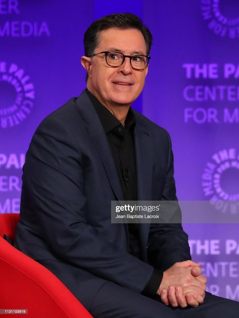 The Paley Center For Media's 2019 PaleyFest LA - An Evening With Stephen Colbert : News Photo