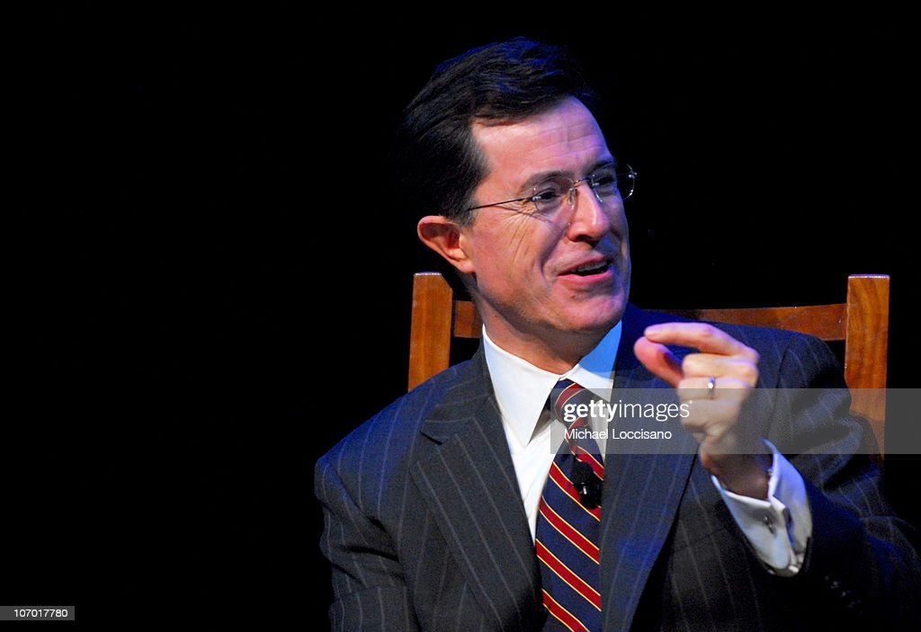 The Academy of Television Arts and Sciences Presents an Evening With The Colbert Report : News Photo
