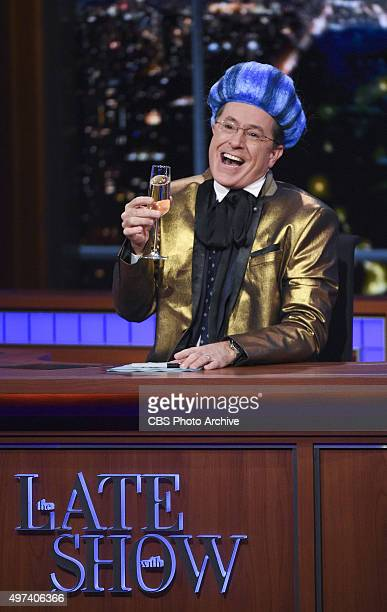 Stephen Colbert on The Late Show with Stephen Colbert Wednesday Nov 4 2015 on the CBS Television Network