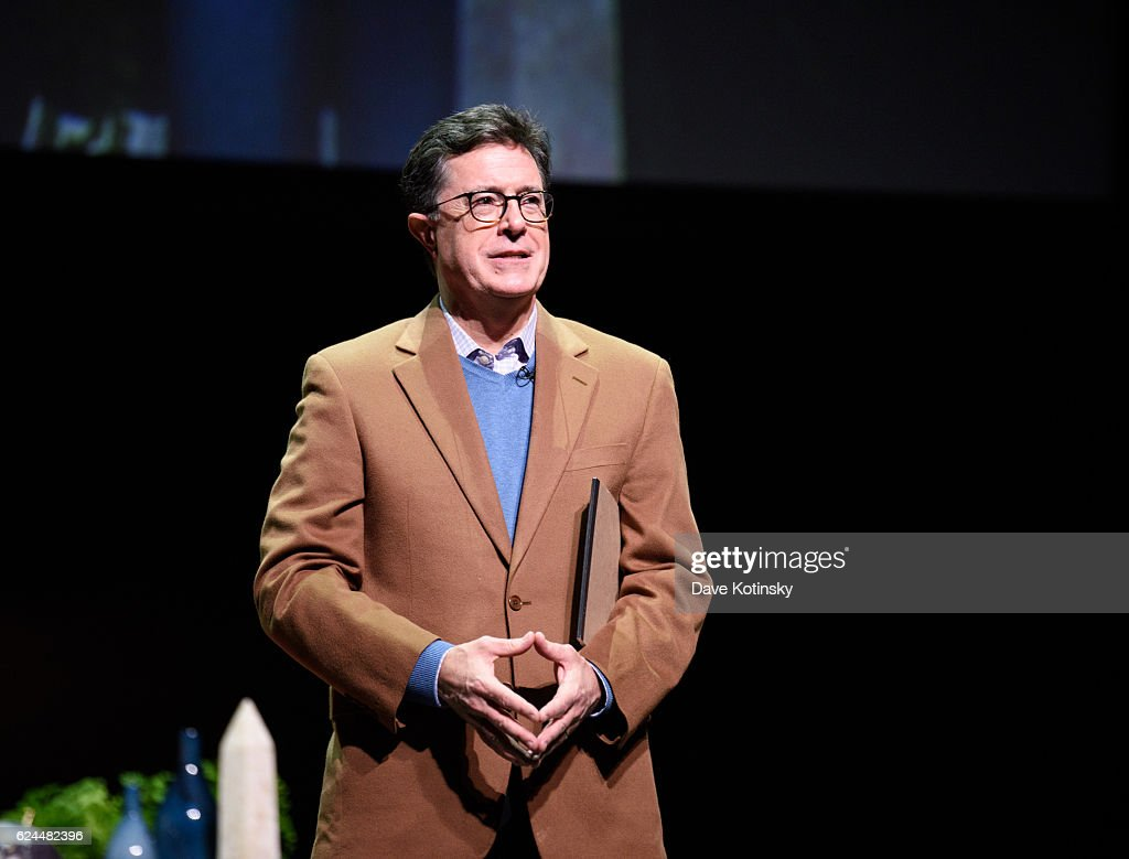 A Post-Election Evening With Stephen Colbert & John Oliver to Benefit Montclair Film Festival : News Photo