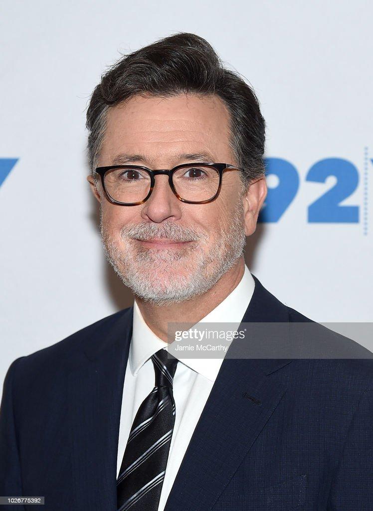 John Krasinski In Conversation With Stephen Colbert