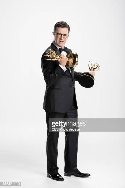 Stephen Colbert will host the 69TH PRIMETIME EMMY AWARDS broadcasting LIVE from the Microsoft Theater in Los Angeles Sunday Sept 17 on the CBS...