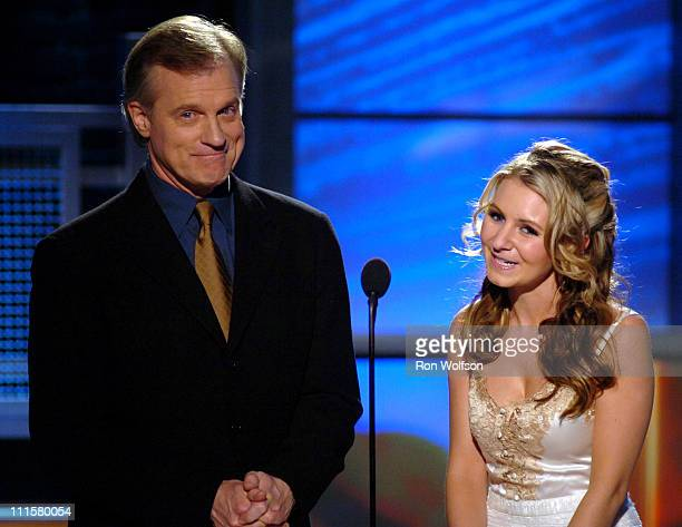 Stephen Collins and Beverley Mitchell during 7th Annual Family Television Awards Show at Beverly Hilton Hotel in Beverly Hills California United...
