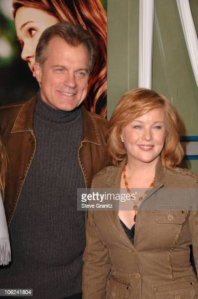 Stephen Collins and Faye Grant during 'Because I Said So' Los Angeles Premiere Arrivals at Arclight Theater in Los Angeles California United States