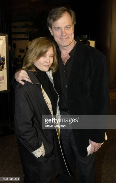 Stephen Collins and wife Faye Grant during 'A Mighty Wind' Los Angeles Premiere at The Directors Guild of America in West Hollywood California United...