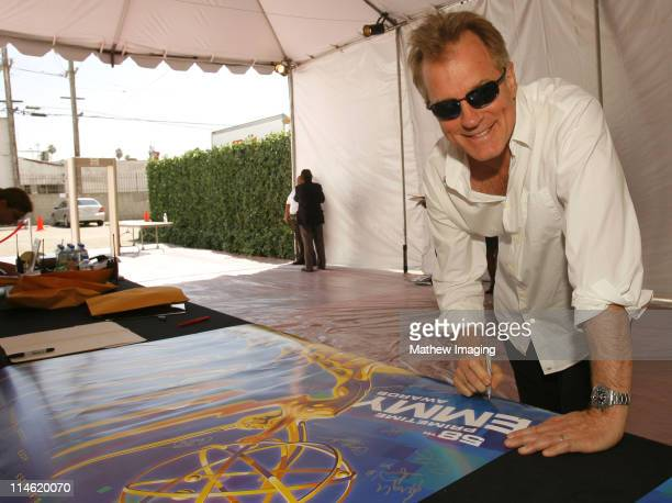 Stephen Collins during 58th Annual Primetime Emmy Awards Rehearsals at The Shrine Auditorium in Los Angeles California United States