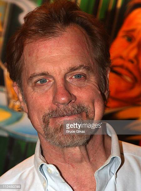 Stephen Collins poses at Monty Python's 'Spamalot' on Broadway at the Shubert Theatre on June 24 2008 in New York City
