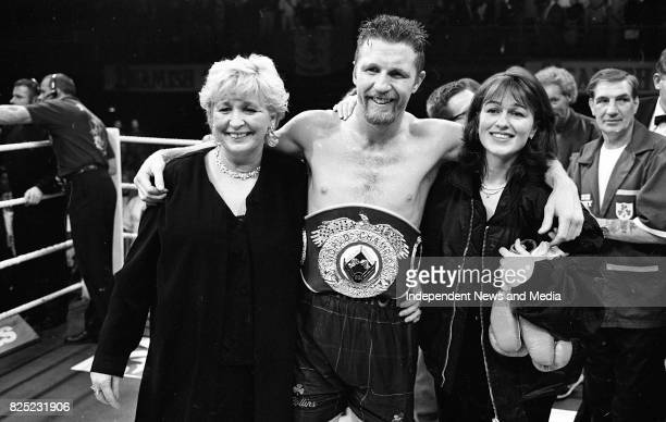Stephen Collins Retains the WBO Super-Middleweight Title against Cornelius Carr at the Point Depot, Dublin, .