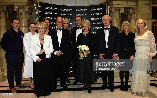 Stephen Cuddy Ruth Bain Catherine McBride Gloria Hunniford Viscount Crichton Joanna Lumley David Robinson HRH the Duchess of Gloucester Ion Mongomery...