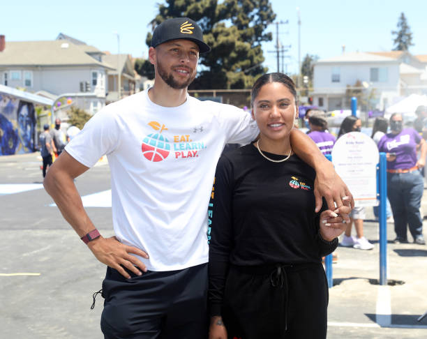 CA: Stephen And Ayesha Curry's Eat. Learn. Play., Along With Partners KABOOM!, The CarMax Foundation, And Oakland Unified School District, Unveiled An Amazing New Playground, Multi-Sport Court, And Garden At Franklin Elementary School On Saturday, June 12
