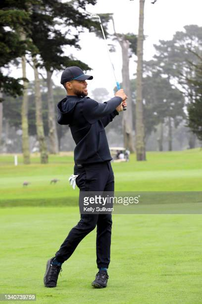 Stephen Curry attends The Workday Charity Classic, hosted by Stephen and Ayesha Curry's Eat. Learn. Play. And Workday, at Franklin Elementary School...