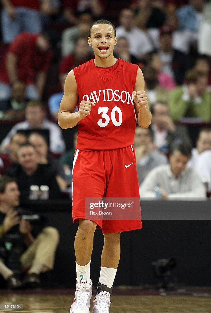 NIT Tournament: Davidson v South Carolina : News Photo