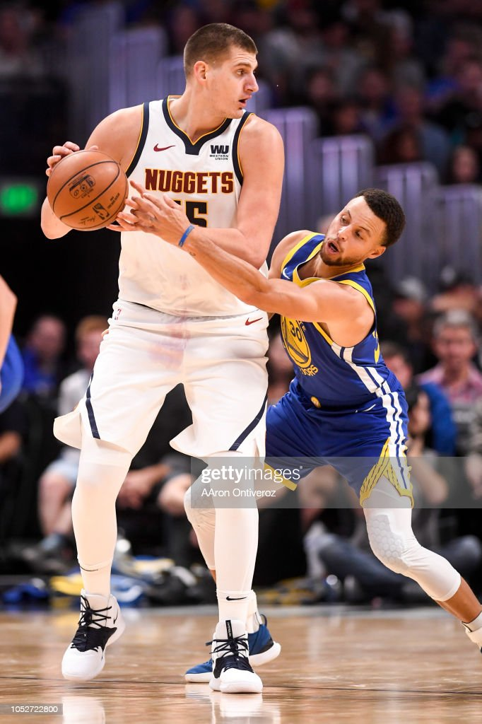 NBA, Denver Nuggets vs Golden States Warriors : News Photo