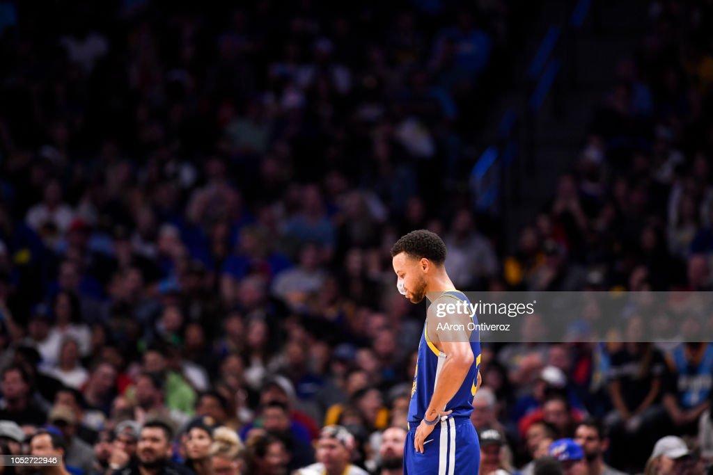 NBA, Denver Nuggets vs Golden States Warriors : News Photo