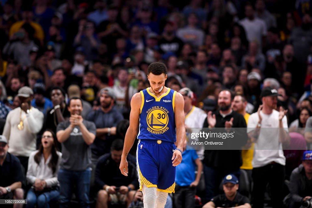 NBA, Denver Nuggets vs Golden States Warriors : ニュース写真