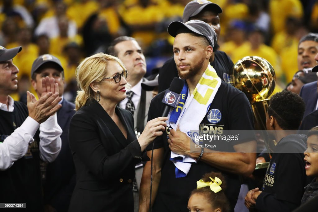 2017 NBA Finals - Game Five : News Photo