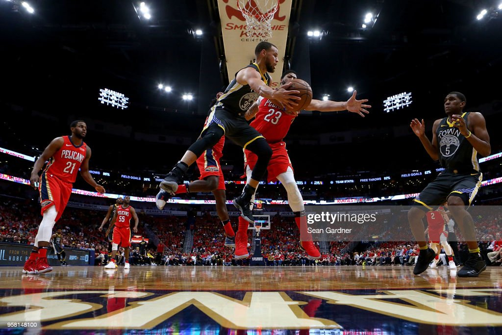 Golden State Warriors v New Orleans Pelicans - Game Four : News Photo
