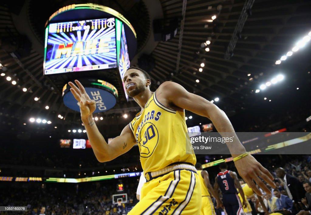 Washington Wizards v Golden State Warriors : News Photo