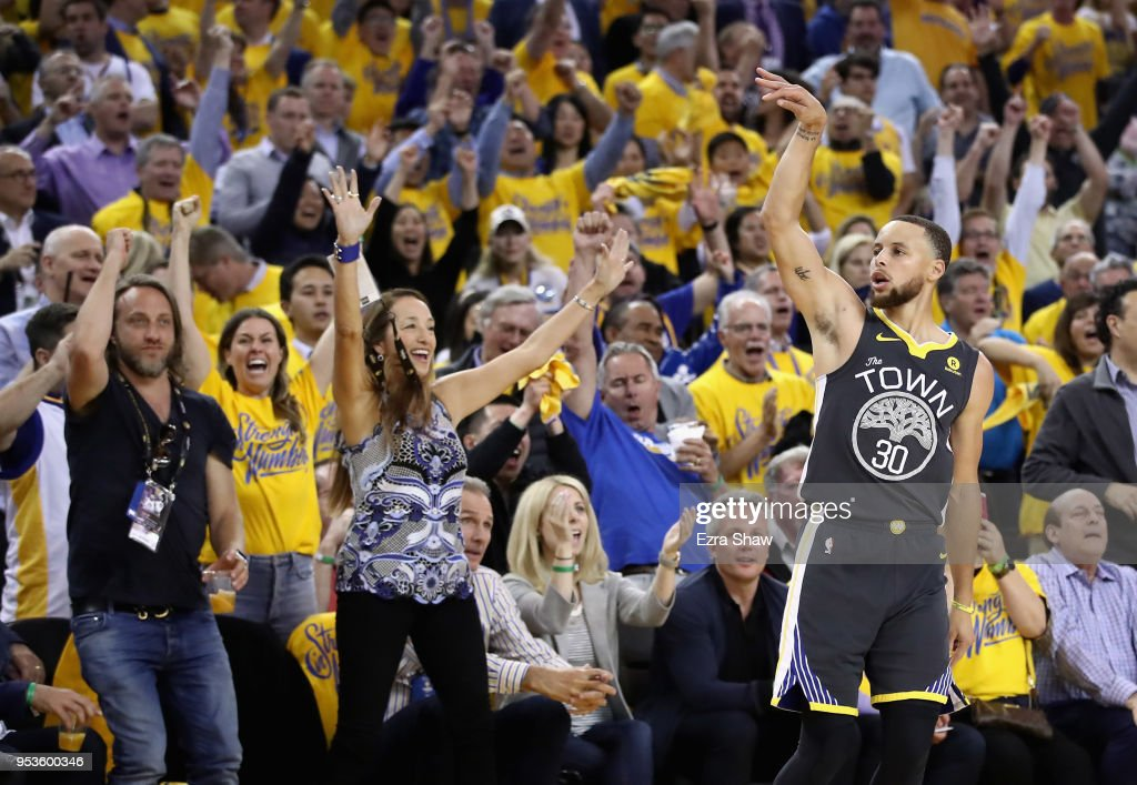 New Orleans Pelicans v Golden State Warriors - Game Two : Nieuwsfoto's